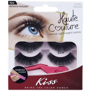 Kiss Haute Couture Duo Pack Lashes- Lust - K-KHLD03GT