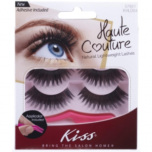 Kiss Haute Couture Duo Pack Lashes- Coy - K-KHLD04GT