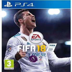 FIFA 18 Standard Edition For PS4 - R2 (Arabic)