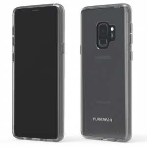 PureGear - Slim Shell Case for Samsung Galaxy S9 - Clear