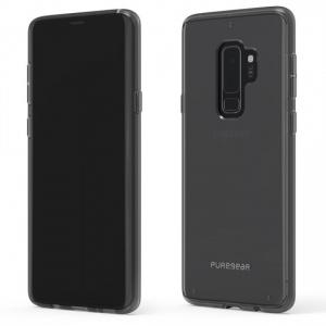 PureGear - Slim Shell Case for Samsung Galaxy S9 Plus - Clear
