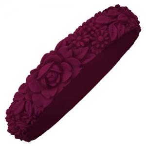 Obag - Slim Flower Bracelet - Bordeaux