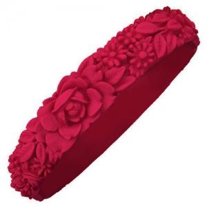Obag - Slim Flower Bracelet - Red