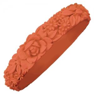 Obag - Slim Flower Bracelet - Salmon Pink