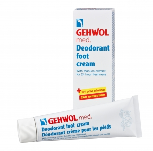 Gehwol med Deodorant Foot Cream - 20ml - 4 Pieces