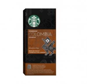 Starbucks Colombia Espresso Capsules - Nespresso Compatible - 10 capsules per box
