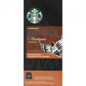 Starbucks Guatemala Espresso Capsules - Nespresso Compatible - 10 capsules per box
