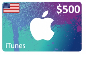 Apple iTunes Gift Card $500