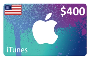 Apple iTunes Gift Card $400