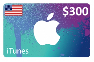 Apple iTunes Gift Card $300