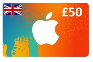 Apple iTunes Gift Cards £50