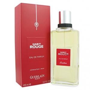 Guerlain Habit Rouge Eau de Parfum Spray for Men - 100ml