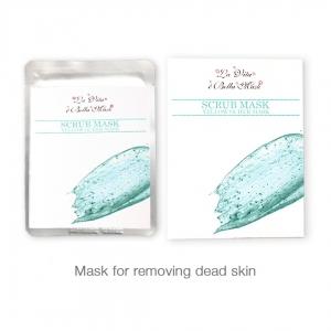 La Vita E'bella Scrub Mask for Removing Dead Skin (Pack of 4 Sheets)