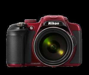 Nikon Coolpix P600 - Red