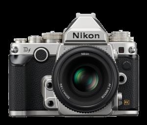 Nikon Df DSLR Camera - Silver