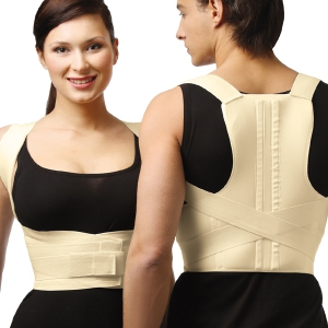 Tonus Elast - Elastic Medical Lower Back Posture Corrector - With Stiff Inserts - Size- XL