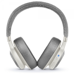 JBL Wireless Over-Ear With Noise Cancelling Headphone E65 - White