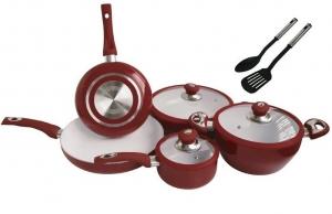 Nevica Aluminium Ceramic Cookware Set