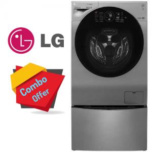 LG Washer Front Load 10.5 KG + Mini Wash 2 KG