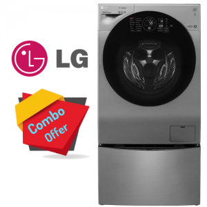 LG Washer Dryer 10.5/7 KG + Mini Wash 2 KG