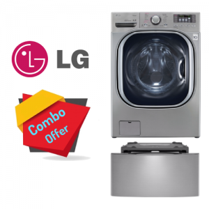 LG Washer Dryer 19/11 KG + Mini Wash 3.5 KG