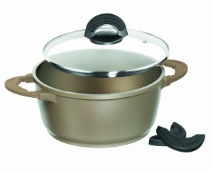 Impera Cooking Pot, 20Cm, Champagne Gold
