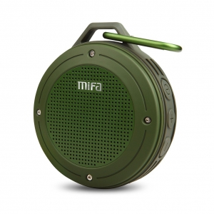 Mifa Free Walker Bluetooth Speaker - F10 - Army Green
