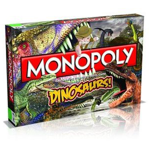 Winning Moves - Monopoly - Dinosaurs