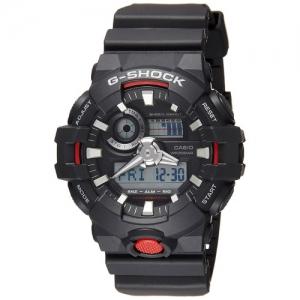 Casio G-Shock Analog Digital Black Watch - GA-700-1ADR