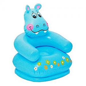 Intex - Happy Animal Chair Assortment- Styles Hippo