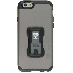 Armor X Rugged case for iPhone 6 integrated X-mount system. Dual PC design & Metal Spray