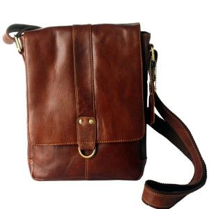 Zunash Side Sling bag- Brown Unisex - ZSB-5029-U-MR