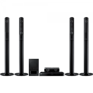 Samsung - 1000 W 5.1Ch Blu-ray Home Entertainment System - HT-J5550K
