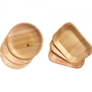 Kizara Environmentally friendly genuine wooden dishes 5 Set