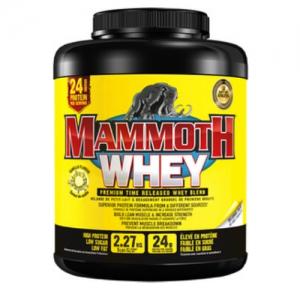 Mammoth Supplements 100% Whey Protein Powder 2.5kg