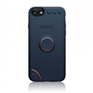 Ludicase Edition Series for iPhone 8/7/6 - Blue Copper
