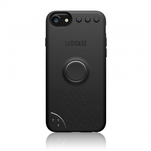 Ludicase Edition Series for iPhone 8/7/6 - Black Space Gray