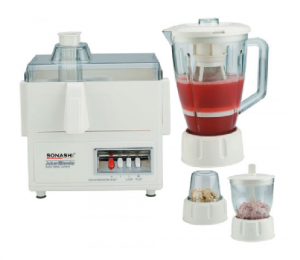 Sonashi 4-in-1 Juicer/Blender/Grinder/ Meat Mincer - SBJ-307