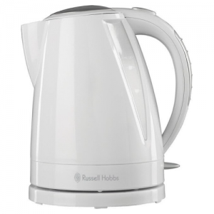Russell Hobbs 15075 Plastic Buxton Kettle - White