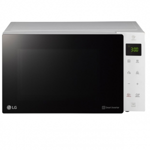 LG - 4 in1 Microwave Oven 25L 1700 W with Grill - White - MH6535GISW