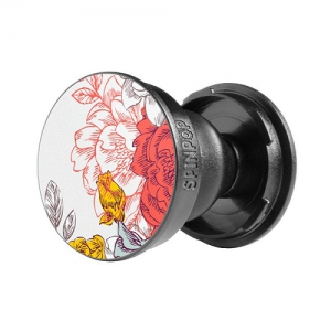 SpinPop Universal Cell Phone Holder - Floral 2