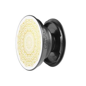 SpinPop Universal Cell Phone Holder - Golden Mandala