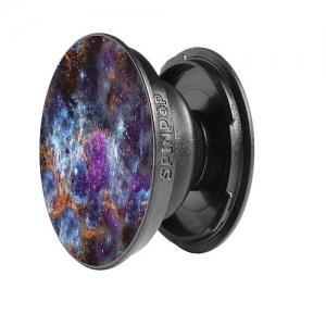 SpinPop Universal Cell Phone Holder - Purple Galaxy