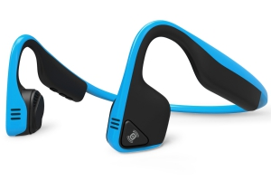 AfterShokz TREKZ Titanium Open-ear Bluetooth Headphones - Blue