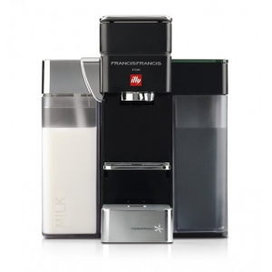 Illy - Y5 Milk Iperespresso Espresso & Coffee Machine (Black&White)