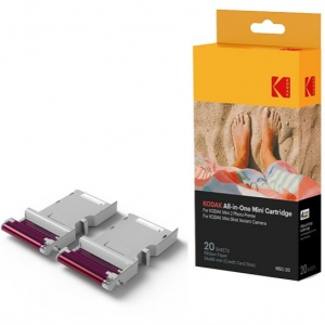 Kodak Mini 2 Photo Printer Cartridge MC All-in-One Paper & Color Ink (for Mini 2 & Mini Shot)
