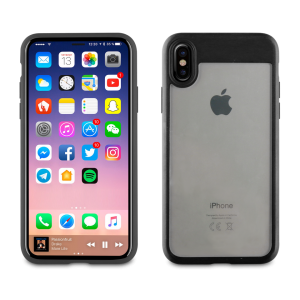 Muvit Edition Crystal Bump Case Black for Apple iPhone X