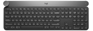 Logitech - Craft Advanced Keyboard With Creative Input Dial - US INTL