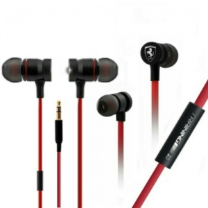 Ferrari Training Wired Earphone