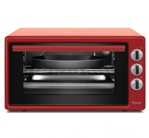 Ferre Electric Oven 42 L - Red